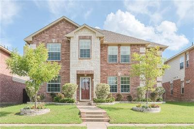 Allen Single Family Home Active Option Contract: 1324 Red River Lane
