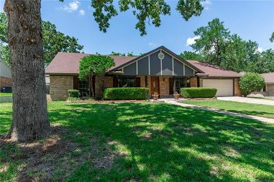 Arlington Single Family Home Active Option Contract: 5407 Summit Ridge Trail