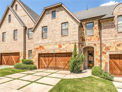 Carrollton Townhouse For Sale: 4289 Haskell Drive