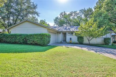 Dallas Single Family Home For Sale: 3555 Woodleigh Court