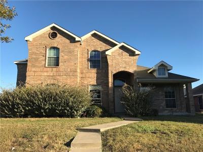 Glenn Heights Single Family Home For Sale: 203 Ephraim Drive