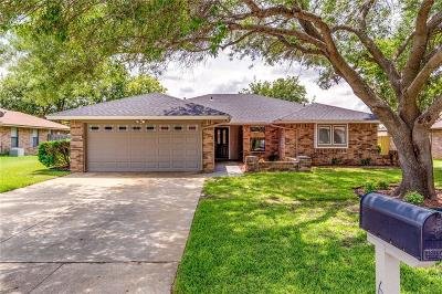 North Richland Hills Single Family Home Active Contingent: 6824 Ridgetop Road