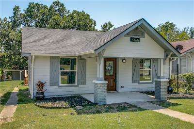 Dallas Single Family Home For Sale: 1044 Burlington Boulevard