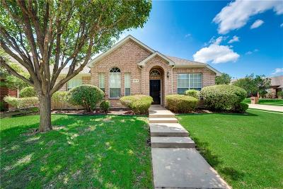 McKinney Single Family Home Active Option Contract: 6013 Hidden Pine Lane