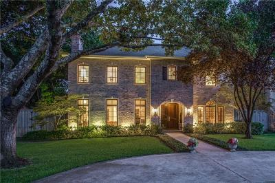 University Park Single Family Home For Sale: 3225 Marquette Street