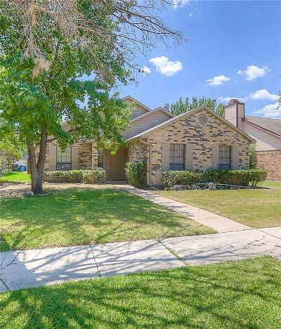 The Colony Single Family Home Active Option Contract: 4121 Driscoll Drive