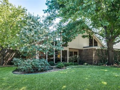 Plano Single Family Home Active Option Contract: 1817 Crooked Lane
