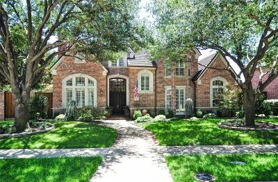 Plano Single Family Home Active Option Contract: 5700 Walden Drive