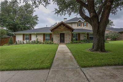 Richardson Single Family Home Active Option Contract: 2507 Little Creek Drive