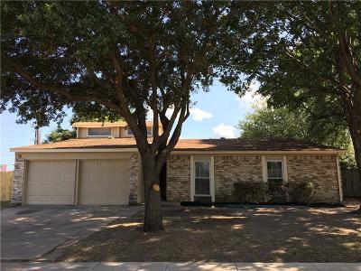 Richardson Rental For Rent: 1218 Brush Creek Drive