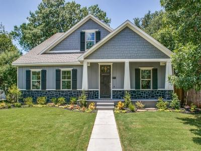 Fort Worth Single Family Home For Sale: 833 Edgefield Road