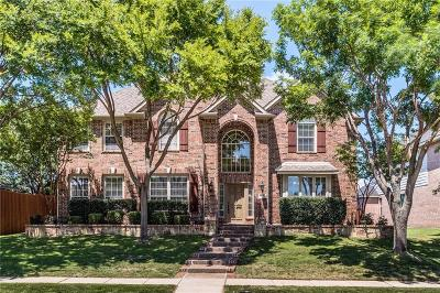 Frisco Single Family Home Active Option Contract: 11105 Freemont Trail