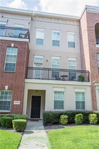 Addison Condo For Sale: 15812 Breedlove Place