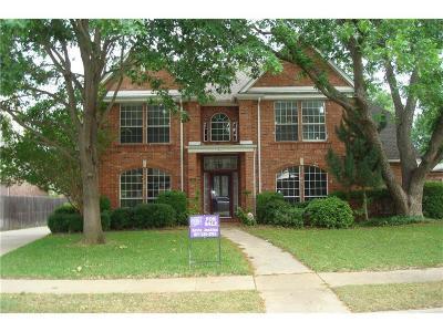 Grapevine Single Family Home For Sale: 3141 Fox Run Drive