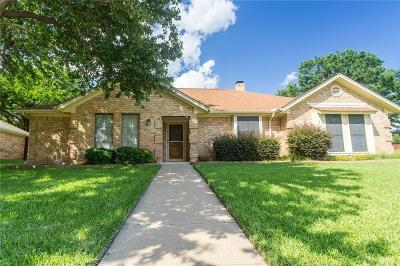 Lewisville Single Family Home For Sale: 1637 Parkside Trail