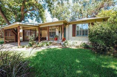 Dallas Single Family Home For Sale: 6441 Sondra Drive
