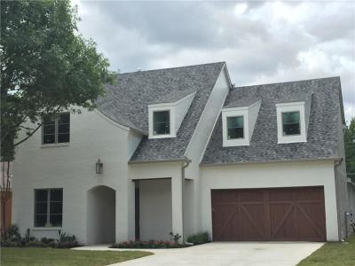 Dallas Single Family Home For Sale: 4040 Beechwood Drive
