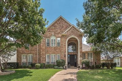 Plano Single Family Home Active Option Contract: 4560 Tuscany Drive
