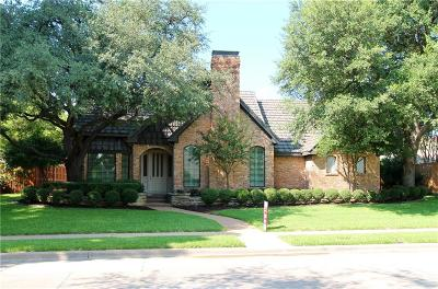 Plano Single Family Home Active Option Contract: 2601 Rothland Lane