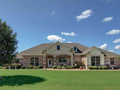 Hudson Oaks Single Family Home Active Contingent: 101 Addison Court