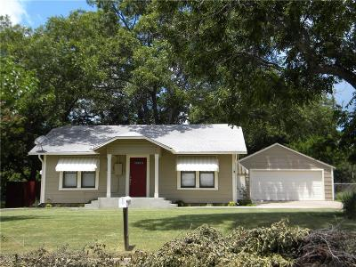 Weatherford Single Family Home For Sale: 307 E 2nd Street