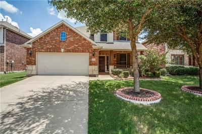 Frisco Single Family Home Active Option Contract: 8610 Robertson Drive