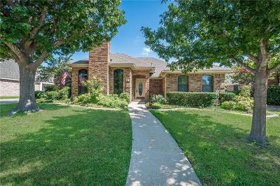 Allen Single Family Home Active Option Contract: 1109 Sandy Creek Drive