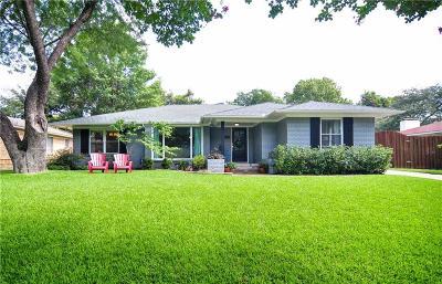 Dallas Single Family Home For Sale: 6217 Saint Albans Drive