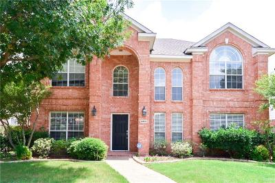 Plano TX Single Family Home Active Option Contract: $344,900
