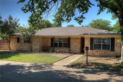 Plano TX Single Family Home Active Option Contract: $196,000