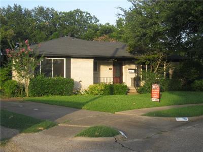 Garland Rental For Rent: 1116 Atlanta Circle