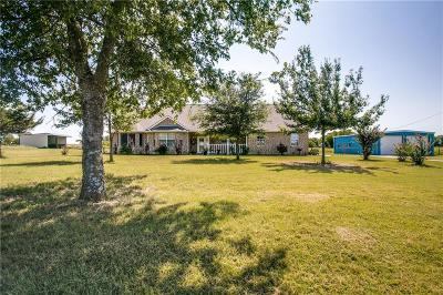 Waxahachie Single Family Home Active Kick Out: 3158 Greathouse Road
