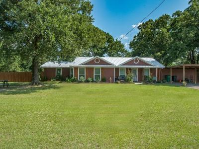Wills Point Single Family Home Active Option Contract: 1190 Vz County Road 3504
