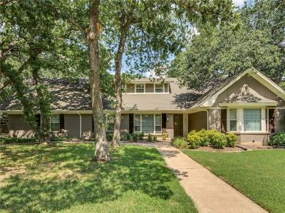 Southlake Single Family Home Active Option Contract: 612 Cimarron Trail