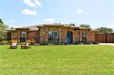 Coppell Single Family Home Active Option Contract: 407 Cozby Avenue