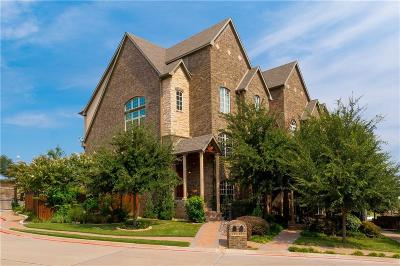 Dallas County, Denton County Townhouse For Sale: 835 Rockingham Drive