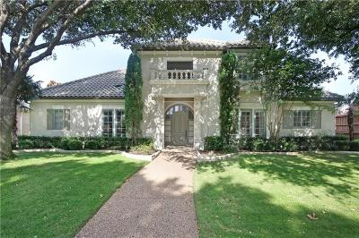 Plano Single Family Home Active Contingent: 2605 Wake Forest Drive