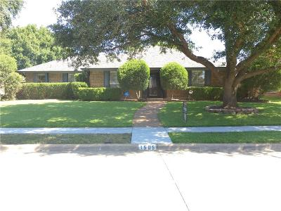Plano Single Family Home For Sale: 1505 Amazon Drive