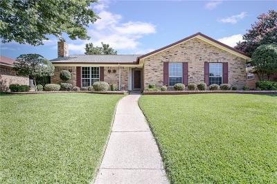 Garland Single Family Home Active Option Contract: 4923 Willowhaven Circle