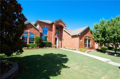 The Colony Single Family Home For Sale: 5517 Eagle River Drive