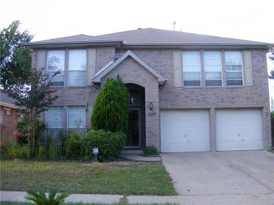 Garland Single Family Home For Sale: 1325 Forbes Drive