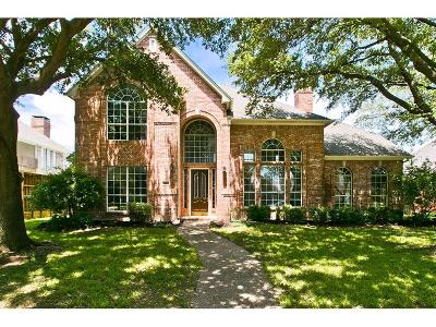 Plano Single Family Home For Sale: 4561 Lancelot Drive
