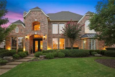 Flower Mound Single Family Home Active Contingent: 5109 Balmoral Lane