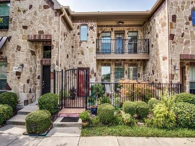 McKinney Townhouse For Sale: 8641 Trolley Trail