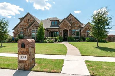 Haslet Single Family Home Active Contingent: 1508 Nettle Lane