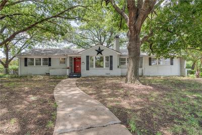 Dallas Single Family Home For Sale: 3806 Walnut Hill Lane