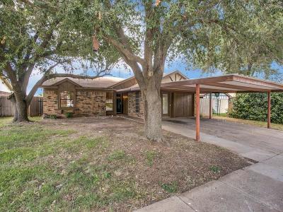 Saginaw Single Family Home Active Option Contract: 1356 N Creek Drive