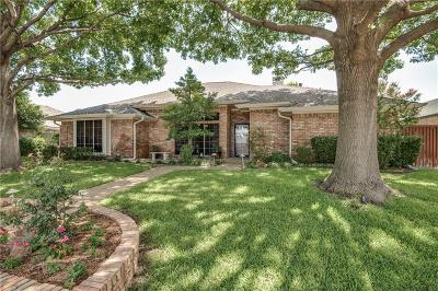 Plano TX Single Family Home Active Option Contract: $349,990