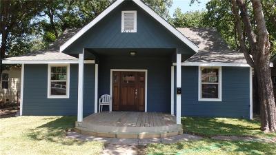 Dallas Single Family Home Active Option Contract: 2613 Gladstone Drive