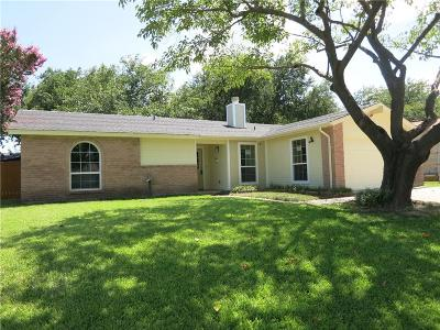 Garland Single Family Home Active Option Contract: 1422 Dove Drive